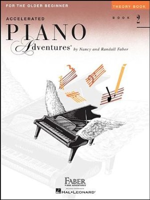 Accelerated Piano Adventures for the Older Beginner: Theory Book 2  -     By: Nancy Faber, Randall Faber