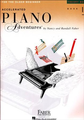 Accelerated Piano Adventures for the Older Beginner: Theory Book 1  -     By: Nancy Faber, Randall Faber