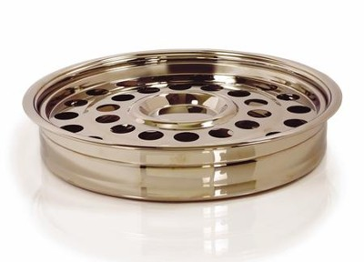 RemembranceWare One Pass Communion Tray and Disc,  Brass-colored  -