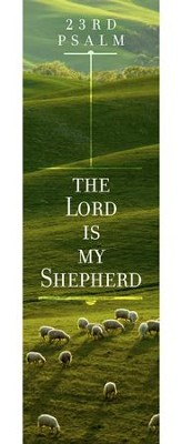 The Lord Is My Shepherd Psalm 23 Kjv Bookmarks 25 Christianbook Com