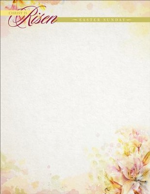 Christ Is Risen Stationery, 100  -