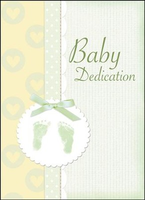 Baby Dedication (Proverbs 22:6) Green Foil Embossed Certificates, 6  -