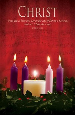 Christ (Luke 2:11, KJV) Advent Bulletins, 100   -