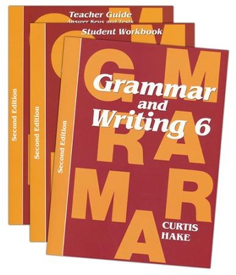 Saxon Grammar & Writing Grade 6 Kit, 2nd Edition   -