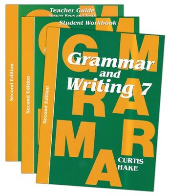 Saxon Grammar & Writing Grade 7 Kit, 2nd Edition   -