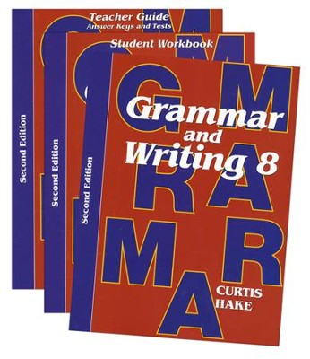 Saxon Grammar & Writing Grade 8 Kit, 2nd Edition   -
