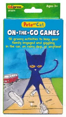 Pete the Cat On-the-Go Games  -