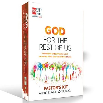 God for the Rest of Us,  Pastor's DVD Kit   -     By: Vince Antonucci