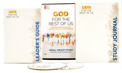 God for the Rest of Us DVD Study Kit  -     By: Vince Antonucci
