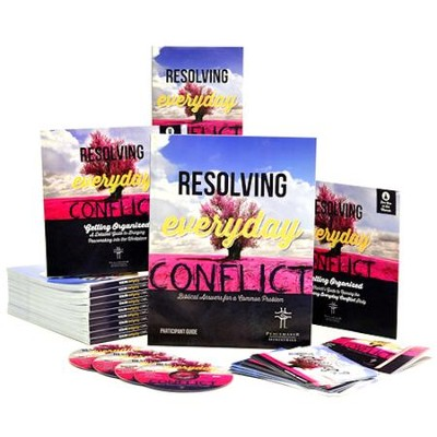 Resolving Everyday Conflict Kit (DVD + 1 Leader's Guide + 9 Participant Guides)  -