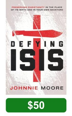 Crossroads Special Offer - Defying Isis $50 Donation  -