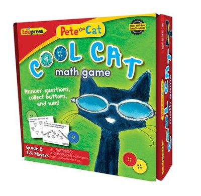 Pete the Cat® Cool Cat Math Game, Kindergarten  -