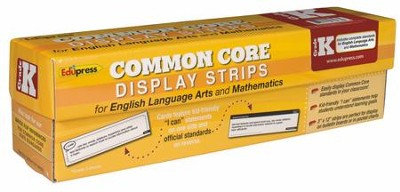 Common Core Display Strips, Grade K  -