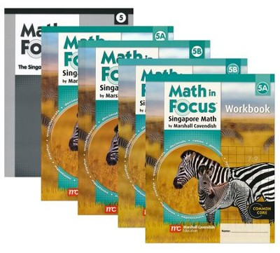 Math in Focus Grade 5 Homeschool Package (with Answer Key ...