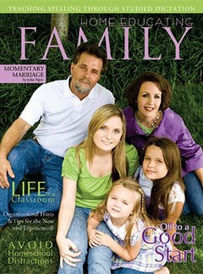 Family Magazine, 1 Year International Subscription   -     By: Rebecca Farris