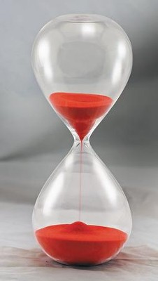 Hourgl Sand Timer 30 Min Red