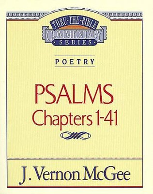 Psalms I - eBook  -     By: J. Vernon McGee
