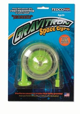 Gravitron Space Gyro Peggable Card  -