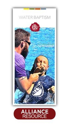 Water Baptism Brochure - Packs of 100   -