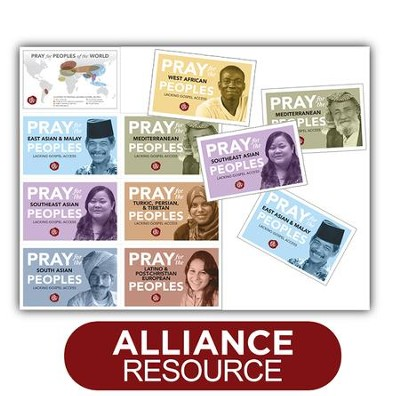 Pray for Peoples - Packs of 25   -