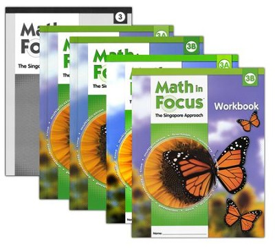 Math in Focus Grade 3 Homeschool Package (with Answer  Key)  -