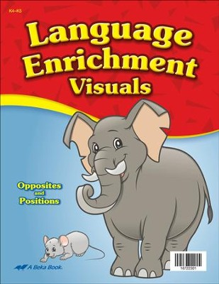 Abeka Language Enrichment Visuals (K4-K5; 72 pictures)   -
