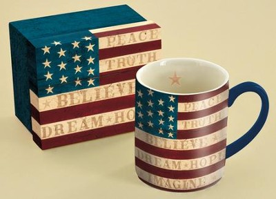 Colonial Flag Mug  -     By: Warren Kimble