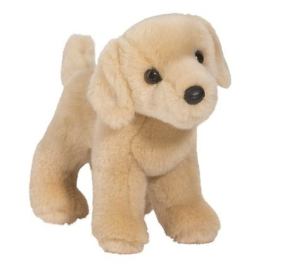 Zach Yellow Lab, Plush Dog  -