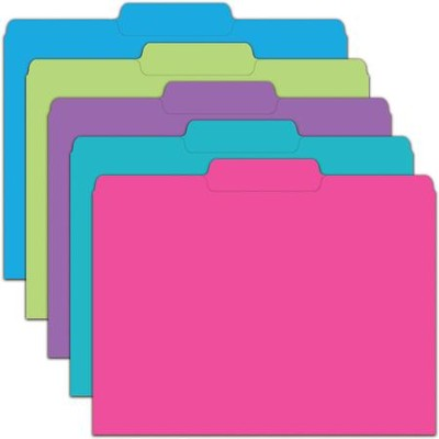 File Folders - Galactic Assorted, Pack of 10  -