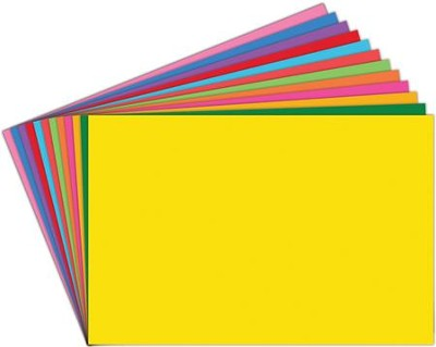 12 Assorted Index Cards 4 x 6, Pack of 100  -