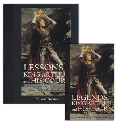 Legends of King Arthur and His Court Book & Study Guide Set   -