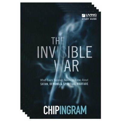 the invisible war study guide 5 pack chip ingram christianbook com rh christianbook com Chip Ingram Bible Studies Chip Ingram Bible Studies