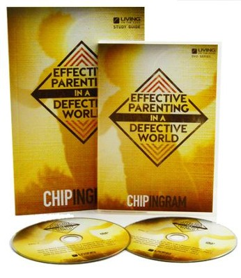 Effective Parenting Group Starter Kit (1 DVD Set & 5  Study Guides)  -     By: Chip Ingram