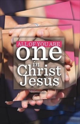 One in Christ (Galatians 3:28) Bulletins, 100  -