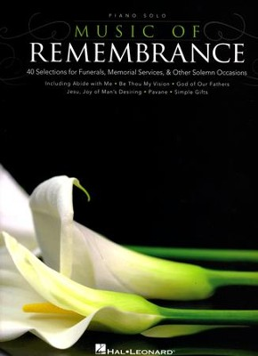 Music of Remembrance (Piano Solo)   -