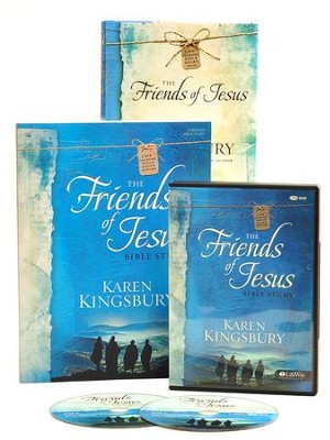 The Friends of Jesus Bible Study, DVD Leader Kit   -     By: Karen Kingsbury