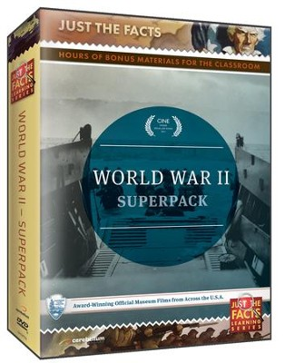 Just the Facts: World War II DVDs Pack  -