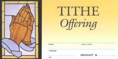 Tithe Offering Envelope, Pack of 100  -