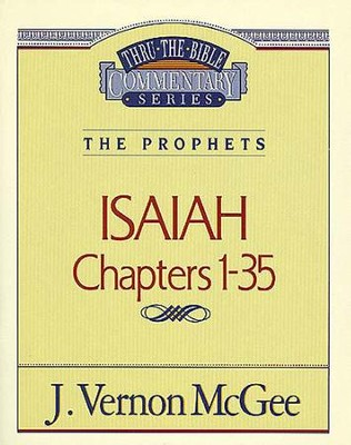 Isaiah I - eBook  -     By: J. Vernon McGee