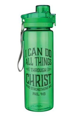 I Can Do All Things Through Christ Water Bottle  -