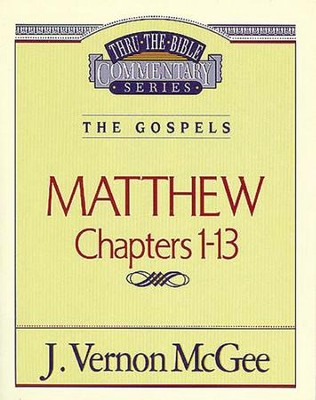 Matthew I - eBook  -     By: J. Vernon McGee