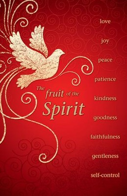 The Fruit Of The Spirit, Pack of 100 Bulletins  -