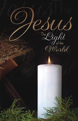 Jesus the Light of the World, Pack of 100 Bulletins  -