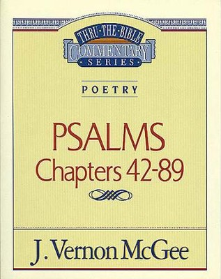 Poetry: Psalms II Chapters 42-89 - eBook  -     By: J. Vernon McGee