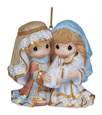 Precious Moments Nativity Ornament Holy Family      -