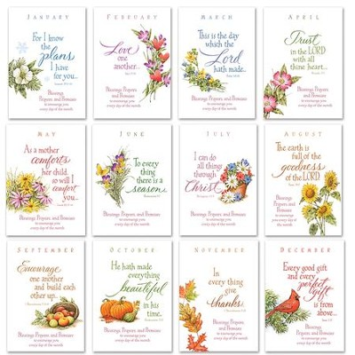 Seasonal Prayer Books, Set of 12  -