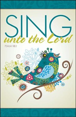 Sing Unto the Lord, Pack of 50 Bulletins  -