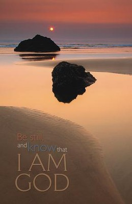 Be Still and Know, Pack of 50 Bulletins  -