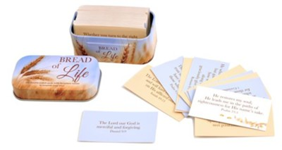101 Promise Cards in Tin, Bread Of Life  -