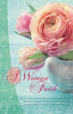 A Woman of Faith, Pack of 50 Bulletins  -